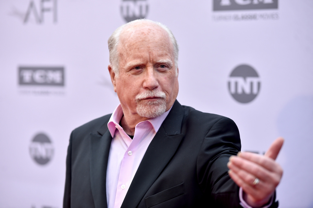 Actor Richard Dreyfuss arrives at American Film Institute's 44th Life Achievement Award Gala Tribute to John Williams on June 9, 2016.