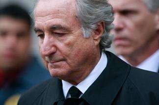 Financier Bernie Madoff.
