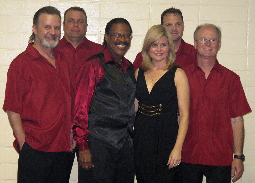 Billy Scott with his band, the Party Prophets