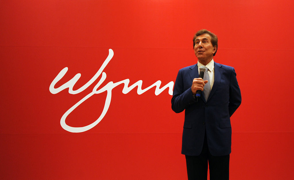Steve Wynn, Chairman and CEO of Wynn Resorts Limited speaks at a press conference after the companies annual general meeting in Macau on May 17, 2011.