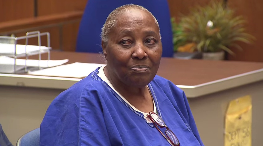 A judge ordered that Mary Virginia Jones, 74, be released from prison after 32 years.