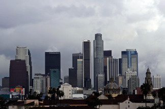 Los Angeles has experienced an unusually mild summer