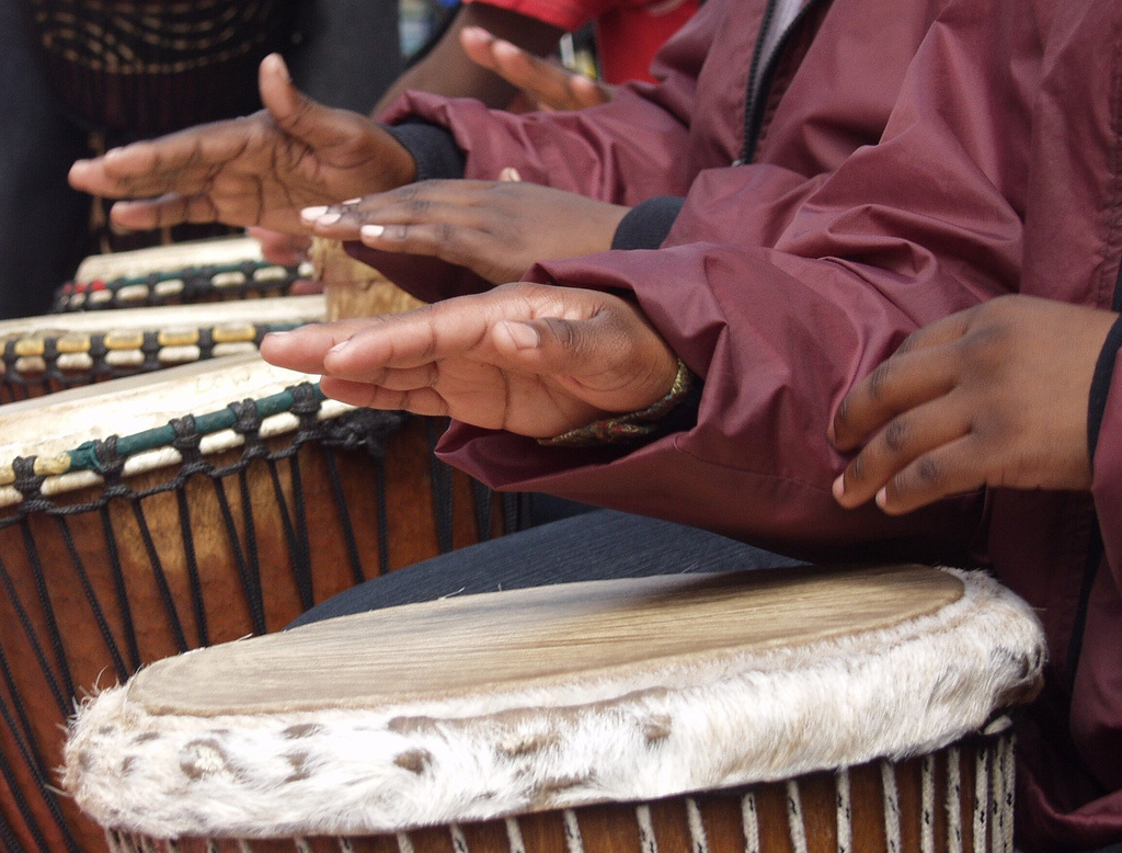 Woodcrest Library is hosting a drum circle and stories on Feb. 19.