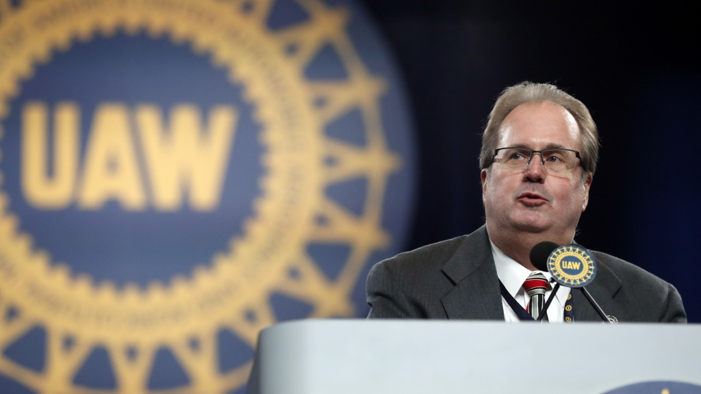 Gary Jones, former president of the United Auto Workers, has admitted he conspired to embezzle more than $1 million out of dues paid by union members.