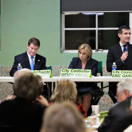 Sherman Oaks Homeowners Association mayoral debate.