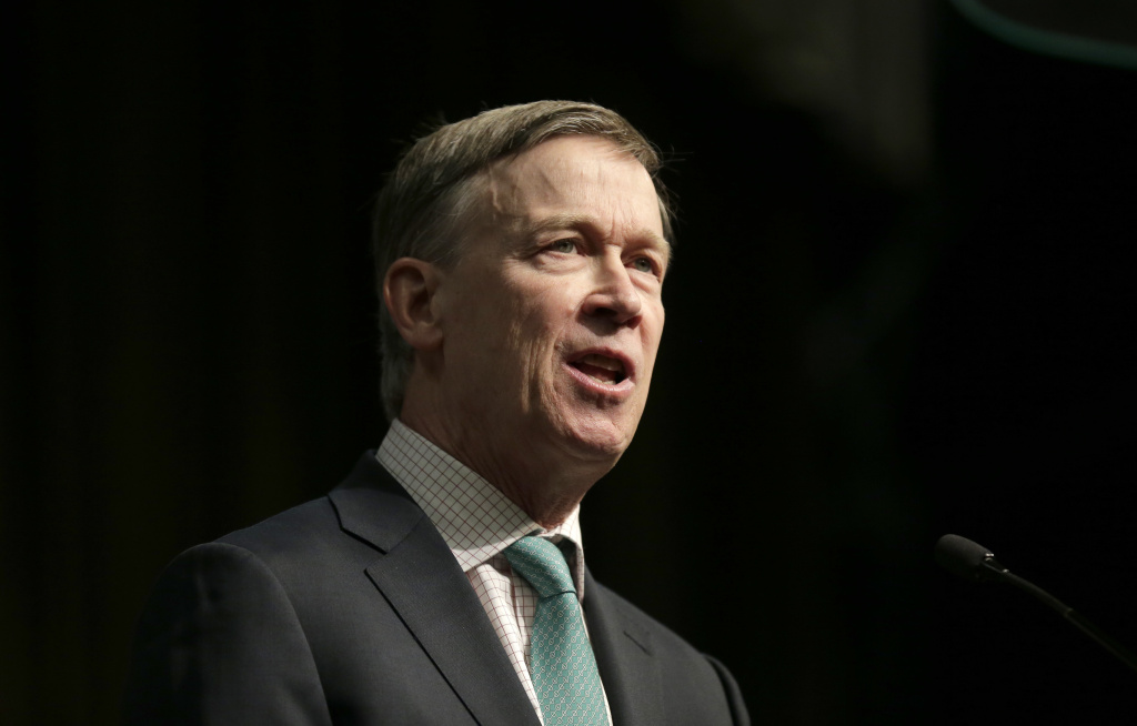 Democratic presidential candidate and former Colorado Gov. John Hickenlooper says Democrats need to focus on