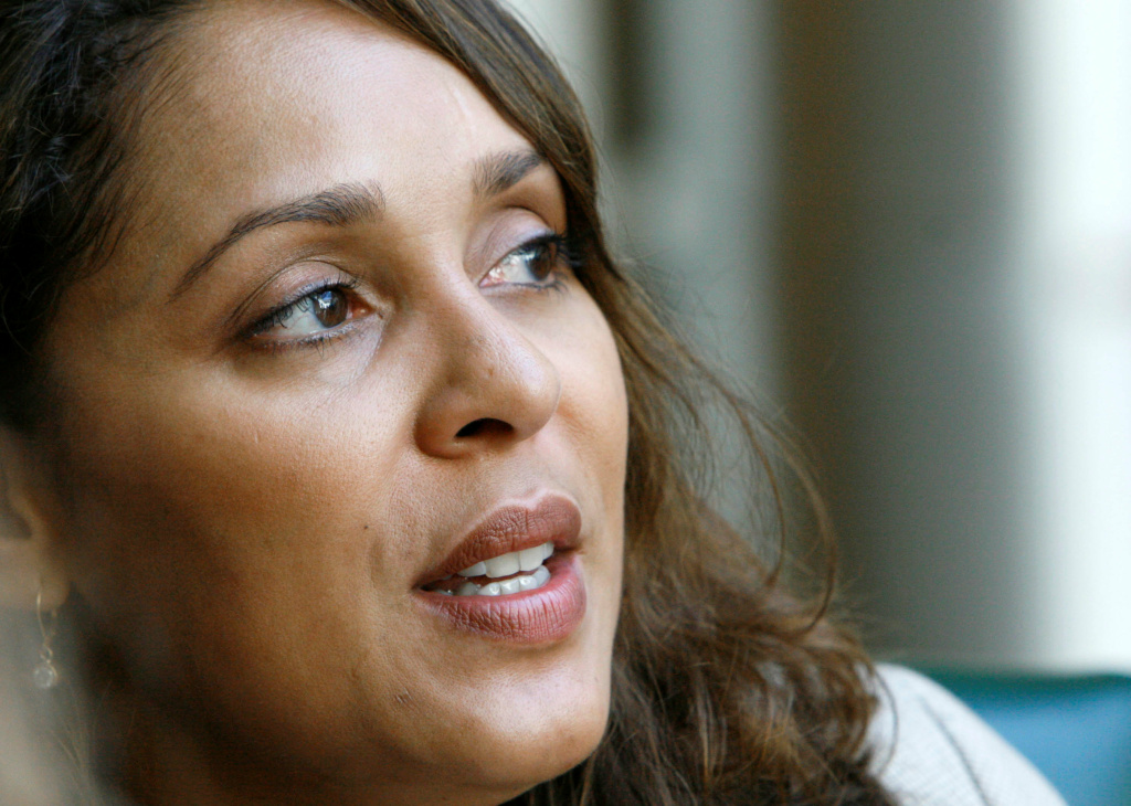 Pulitzer Prize winning author Natasha Trethewey in Cleveland, Miss., Wednesday, Oct. 10, 2007. Trethewey, a creative writing professor at Emory University in Atlanta, received the 2007 Pulitzer Prize for poetry.