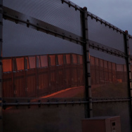 The United States - Mexico Border wall near the San Ysidro Port of Entry in San Ysidro, California on Friday, February 10, 2017.