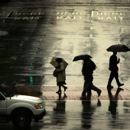Pacific Storm Brings Rain And Snow To LA County
