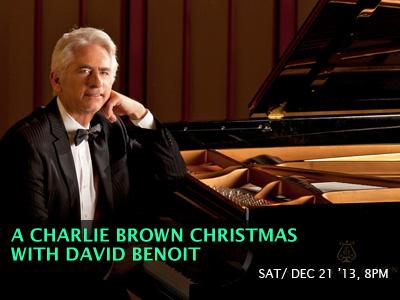 A Charlie Brown Christmas with David Benoit