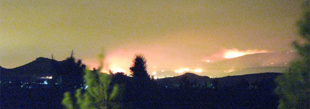 Antelope Valley Crown Fire