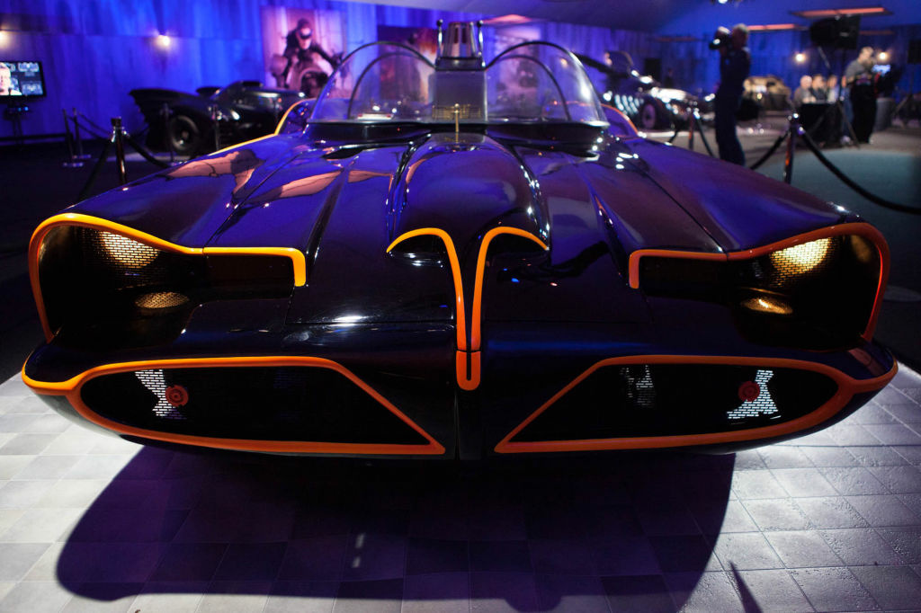 Slideshow 60s Batman Batmobile Creator George Barris