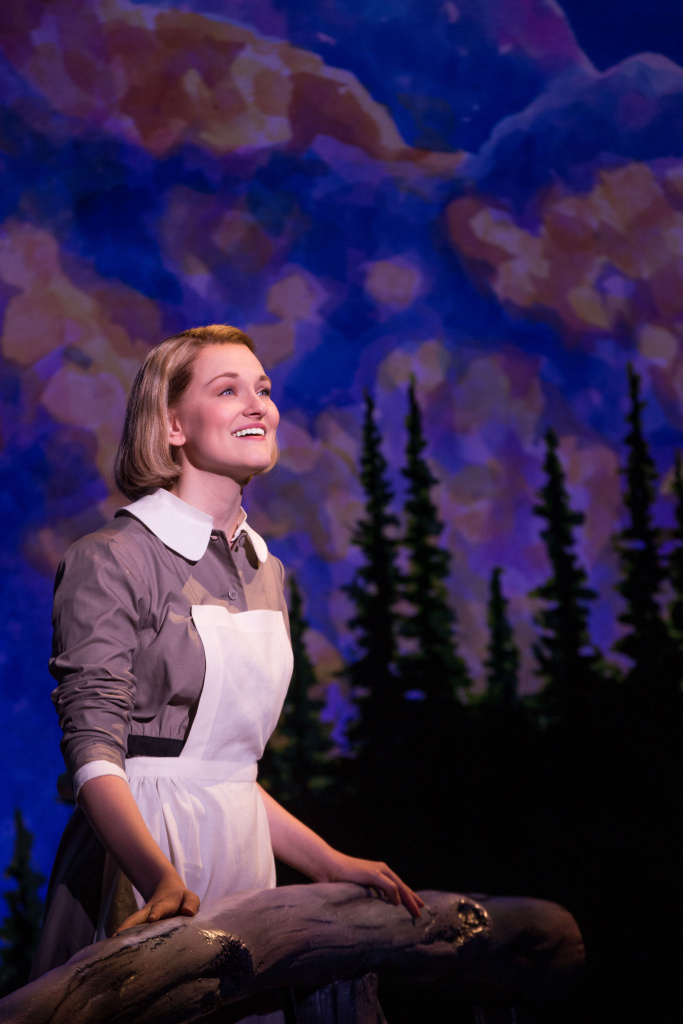 """Kerstin Anderson plays Maria Rainer in the national tour of Rodgers & Hammerstein's """"The Sound of Music,"""" directed by Jack O'Brien, now playing at the Center Theatre Group/Ahmanson Theatre through October 31, 2015."""