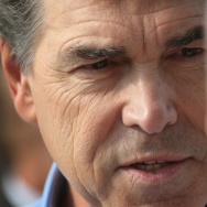 Rick Perry Visits Iowa State Fair
