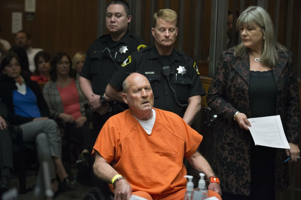 DNA sleuthing helped identify Joseph James DeAngelo, the suspected East Area Rapist, who was arraigned in a Sacramento, Calif., courtroom in April.