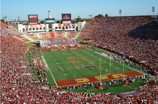Los Angeles Memorial Coliseum in 2008.