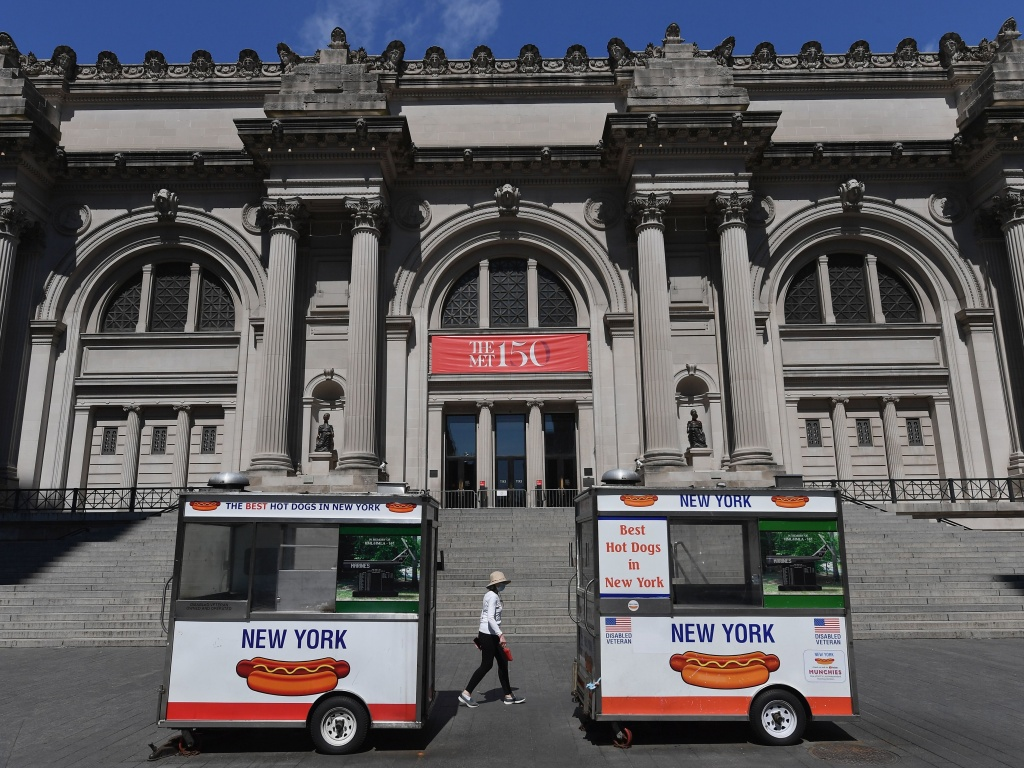 New York City's museums and cultural institutions will be allowed to re-open on Aug. 24, Gov. Andrew Cuomo announced on Friday. The city's museums were temporarily shuttered by the pandemic and kept closed even as the state entered Phase 4 in July.