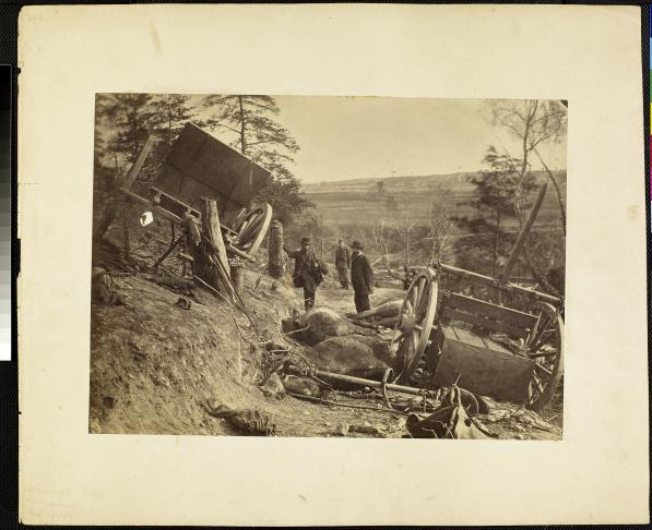 Andrew J. Russell, Fredericksburg
