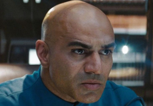 Pakistani-American actor Faran Tahir as Captain Robau in 2009's Star Trek