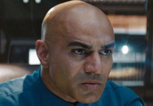 Pakistani-American actor Faran Tahir as Captain Robau in 2009's Star Trek