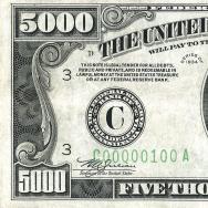 Madison $5,000 bill