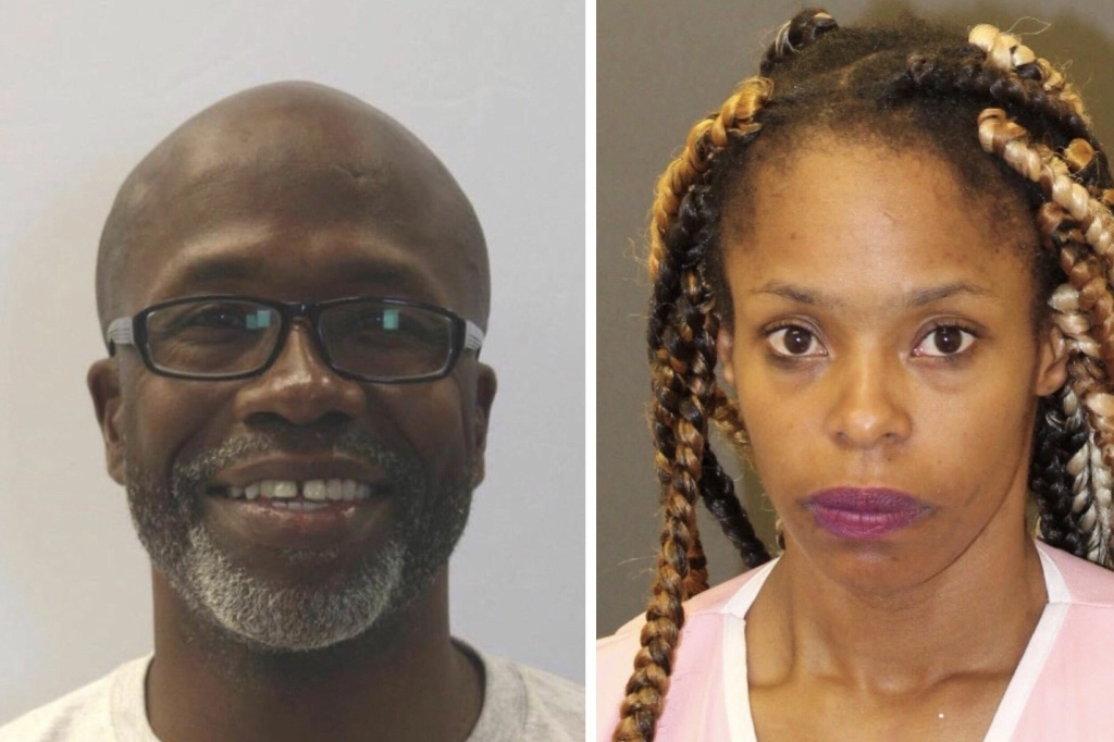 Keith Smith, 52, and his daughter, Valeria Smith, 28, were arrested on Sunday and charged with first-degree murder in the December killing of Keith's wife, Jacquelyn Smith. These undated photos provided by Baltimore police predate the suspects' arrest in Texas.