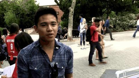 John Joanino, a UCLA student, talks about college affordability.
