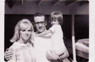 George Carlin family photo