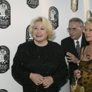 Irene Larsen (left) and actor Tippi Hedren attend the after party for the 36th Annual Academy of Magical Arts Awards Show and Banquet in association with the Magic Castle at the Henry Fonda Music Box Theater on May 1, 2004 in Hollywood, California.
