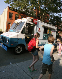 While their friends line up for ice cream, some students are stuck in summer school.