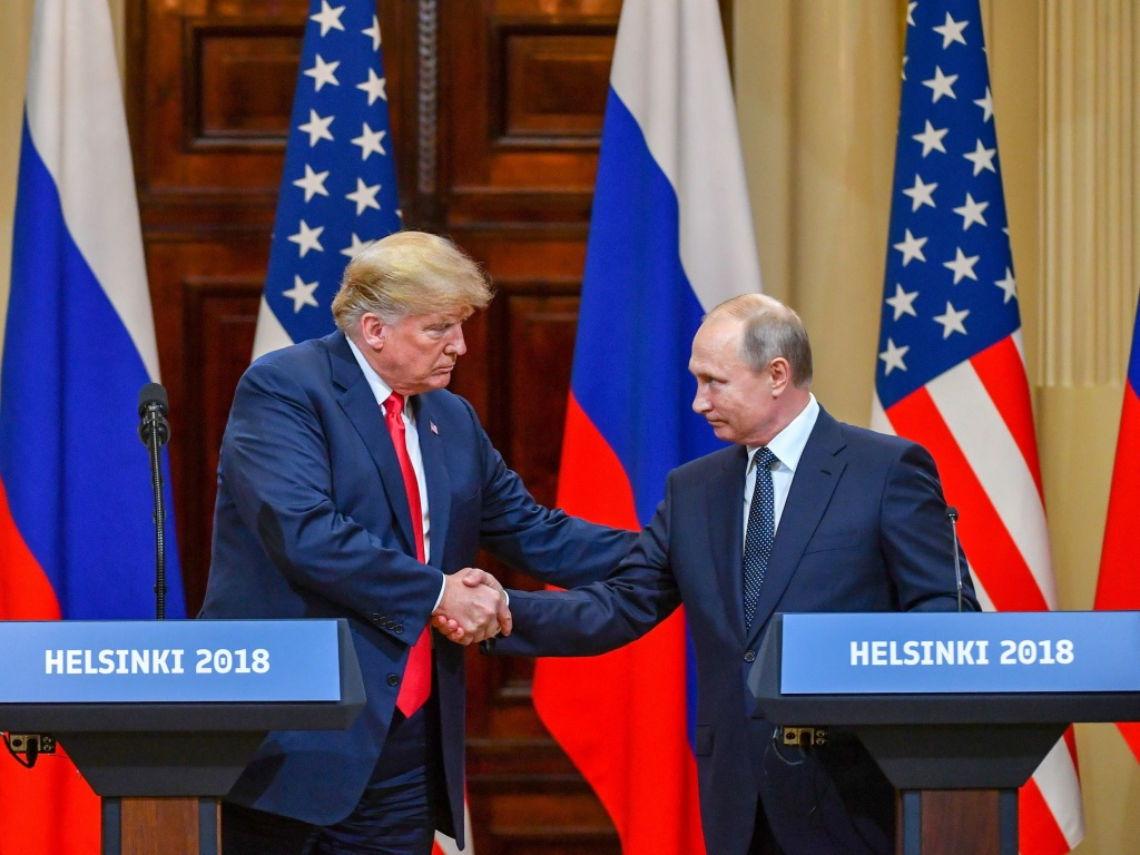 President Trump's and Russian President Vladimir Putin's summit was a meeting between allies, with convergent interests and common goals, according to a Brookings Institution fellow. (Photo Credit:Yuri Kadobnov/AFP/Getty Images)