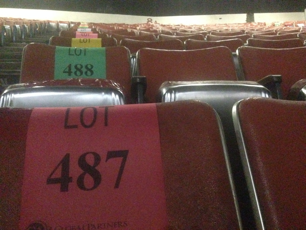 Yep, even the seats will be sold