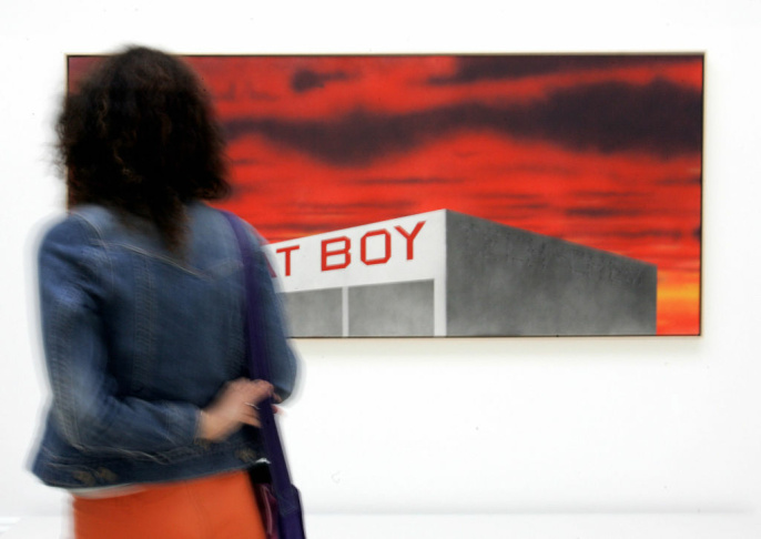 Artist Ed Ruscha has resigned from the board of Los Angeles's Museum Of Contemporary Art — the last of four to leave after chief curator Paul Schimmel was removed.