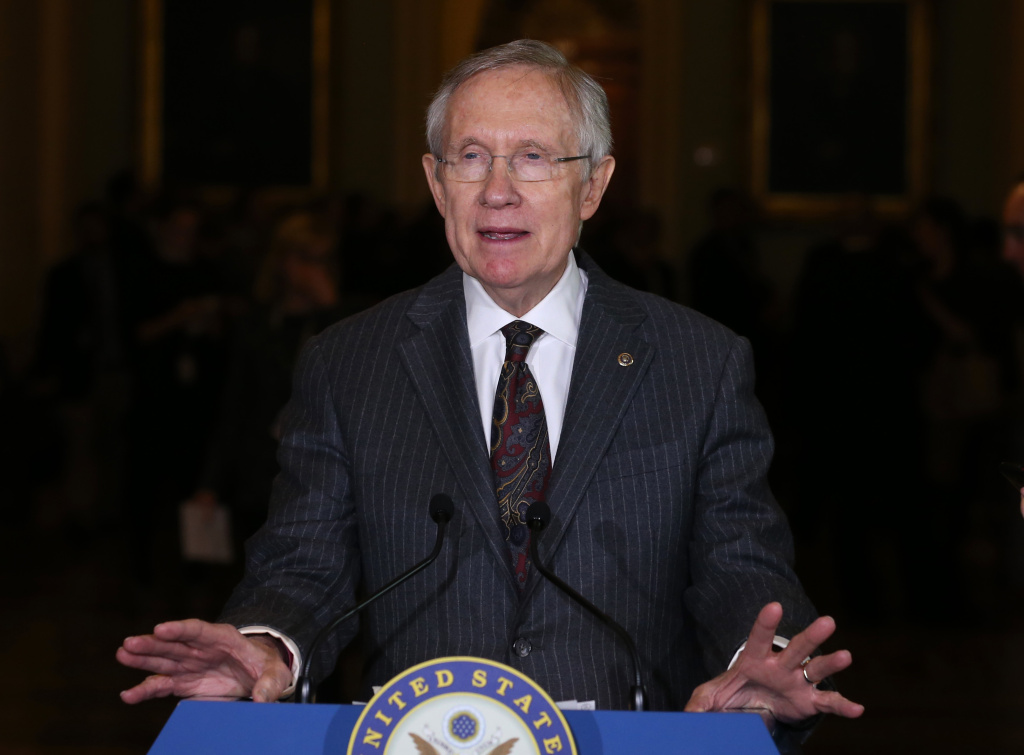 Senate Majority Leader Harry Reid (D-NV), hopes the Senate will finish work on the National Defense Authorization Act before the Thanksgiving holiday.