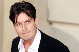 Actor Charlie Sheen arrives at Chrysalis' 5th Annual Butterfly Ball at the home of Fred and Carla Sands on June 10, 2006 in Los Angeles, California.
