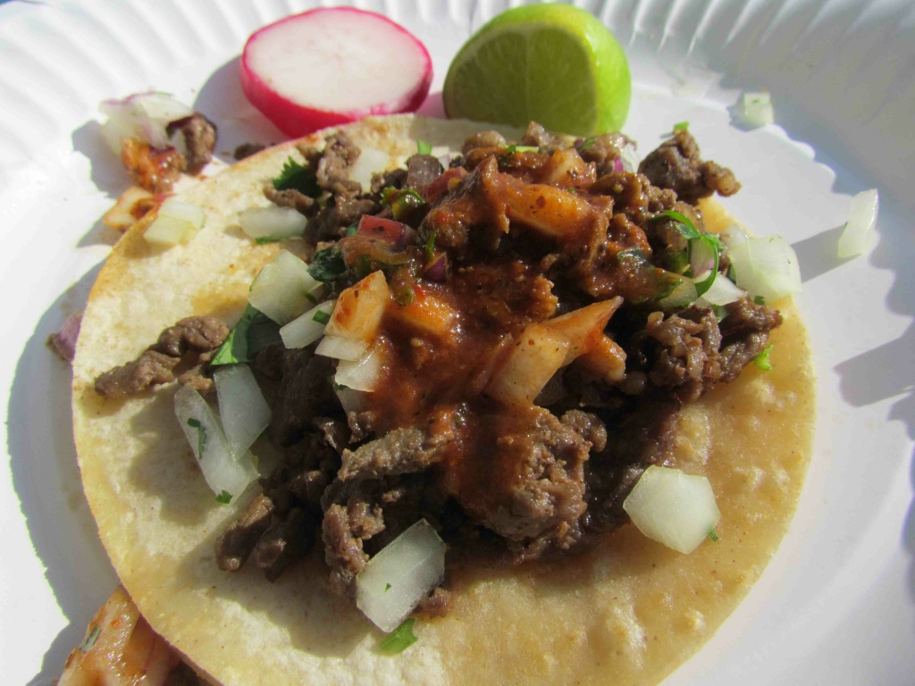 Taco Madness is a local competition to find the best tacos in Los Angeles.
