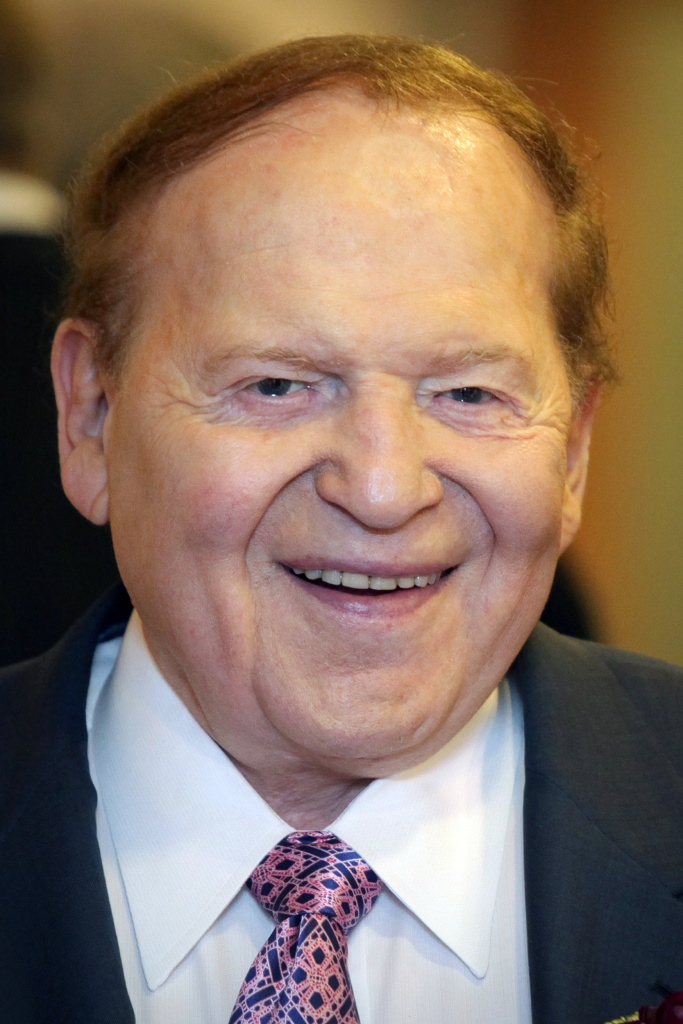 Sheldon Adelson, chairman of US-based firm Sands Las Vegas.