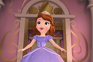 "Princess Sofia from Disney's ""Sofia the First: Once Upon a Princess,"" which debuts on the Disney Channel Nov. 18."