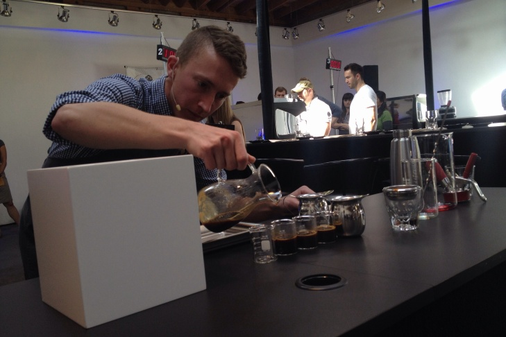 At 'Big Western' coffee competition, talk of a surging L A