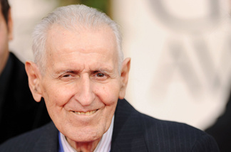Dr. Jack Kevorkian arrives at the 68th Annual Golden Globe Awards held at The Beverly Hilton hotel on January 16, 2011 in Beverly Hills.