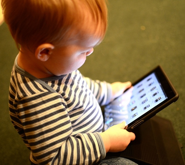 The American Academy of Pediatrics recommends no screen time for children under 2.