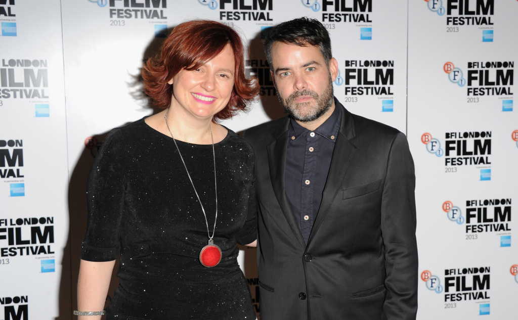 Director Sebastian Lelio and Clare Stewart attend a screening of