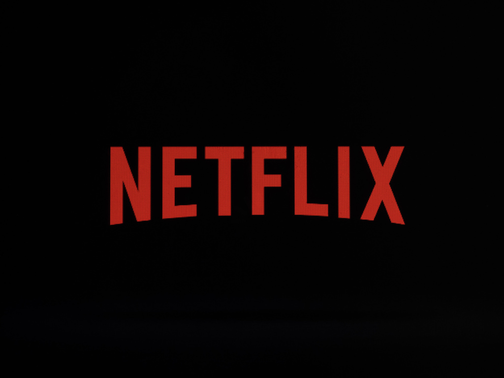 A file photo from last year shows the Netflix logo on an iPhone in Philadelphia.