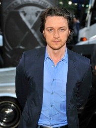 Actor James McAvoy attends the 'X-Men: First Class' New York Premiere at the Ziegfeld Theatre on May 25, 2011 in New York City.