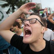 Rio De Janeiro Holds Climate March