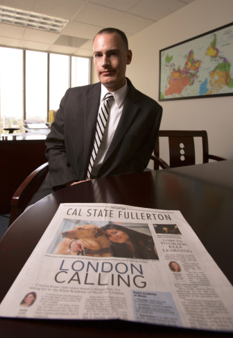 """For me to march into a newspaper and say, 'You should do a section on our university?' In my past experience that wouldn't be an appropriate ask,"" said Cal State Fullerton Chief Communications Officer Jeffrey Cook."