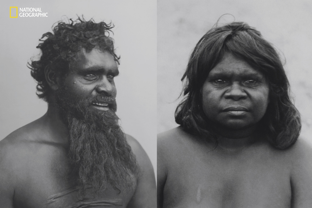 In a full-issue article on Australia that ran in National Geographic in 1916, aboriginal Australians were called