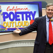 Dana Gioia at the California Arts Council's 2014 Poetry Out Loud State Finals in Sacramento.