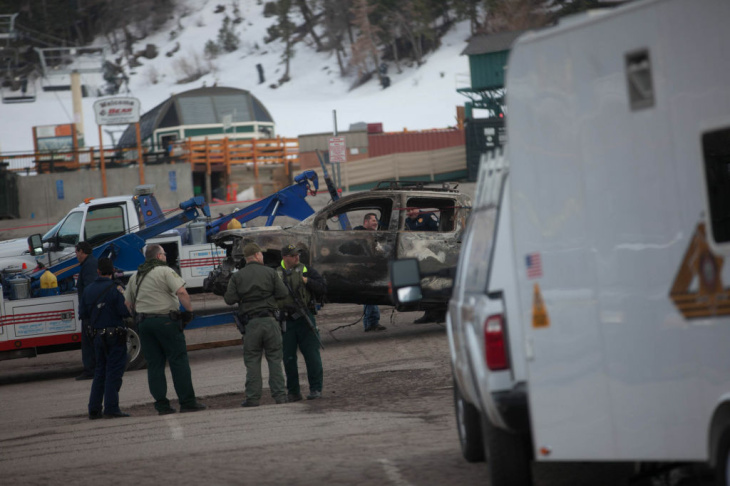 Bear Mountain Dorner Manhunt