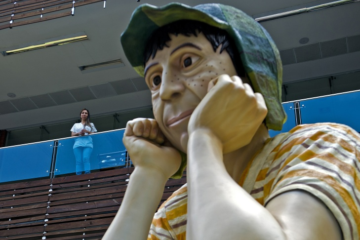 COLOMBIA-ART-SCULPTURE-FEATURE